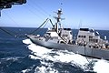 USS Peleliu conduct mock refuel of USS Higgins 120605-M-VZ265-632.jpg