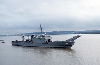USS <i>Saginaw</i> (LST-1188) Newport-class tank landing ship