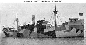 Bembridge Lifeboat Station - The USS Wakulla, The Bembridge lifeboat saved thirteen of her crew