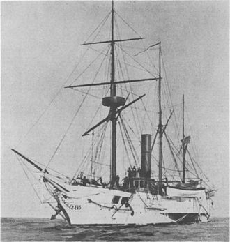USS Michigan (1843) - Wolverine