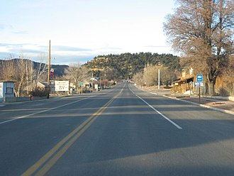 Long Valley (Kane County, Utah) - Image: US 89 Glendale