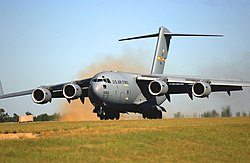 US Air Force C-17 Globemaster III aircraft.jpg