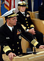 US Navy 031031-N-5576W-013 Vice Chief of Naval Operations (VCNO) Adm. Michael G. Mullen speaks at the official Naval Service Training Command (NSTC) (formerly NTC Great Lakes) stand-up ceremony onboard Naval Station Great Lakes.jpg