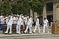 US Navy 070523-N-3557N-106 The 2007 Shore Sailors of the Year candidates walk out to take their seats for the 2007 Shore Sailor of the Year ceremony at the Navy Memorial.jpg