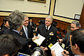 US Navy 110301-N-ZB612-071 Chief of Naval Operations (CNO) Adm. Gary Roughead, middle, and Secretary of the Navy (SECNAV) the Honorable Ray Mabu.jpg
