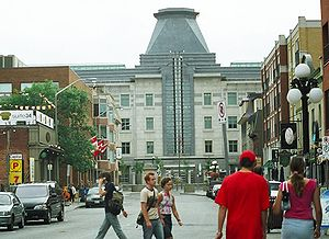 Gary Haney - The United States Embassy in Ottawa, Canada as seen from the Byward Market, 2007