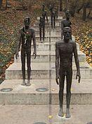 Olbram Zoubek - Monument slachtoffers van het communisme (2002), Ujezd, Praag