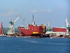 Uljanik ship launch (01)