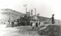 Undine (sternwheeler) in the Celilo Canal ca 1915.png