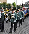 Schützen in Uniformen