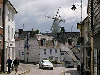 Cranbrook, Kent - Image: Union Mill in Cranbrook, Kent