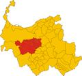 Unione dei comuni del Coros-mappa comuni.png