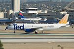 United Airlines (Ted), Airbus A320, N406UA (16698072940).jpg