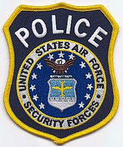 United States Air Force Security Forces Police Patch