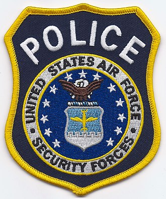 Department of the Air Force Police - United States Air Force Security Forces POLICE Patch