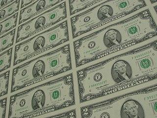 Uncut currency sheets Uncut banknote sheets