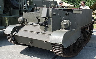 Universal Carrier armored personnel carrier