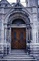 Université McGill, Redpath Library, 3459, rue McTavish, Montréal façade, l'entrée 11-d.na.civile-91-579.jpg