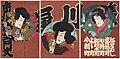 Utagawa Kunisada II - Actors Ichimura Kakitsu IV as the Little Fox Reiza and Ichikawa Kodanji IV as Nippondaemon.jpg