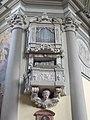 Vác Cathedral. Small organ. - Hungary.JPG