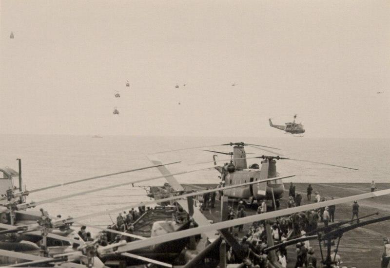 VNAF arrives at USS Midway