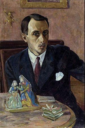 Valerian Sidamon-Eristavi - Valerian Sidamon-Eristavi. Self-portrait