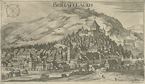 Škofja Loka - Škofja Loka in the late 17th century