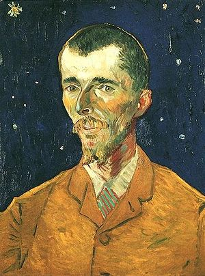 La Louvière - Van Gogh - Portrait of Eugène Boch 1888