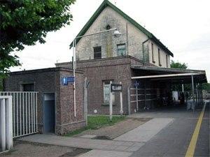 Villa de Mayo - Villa de Mayo railway station