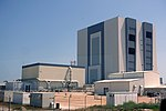 Vehicle Assembly Building and outbuildings - Kennedy Space Center - Cape Canaveral, Florida - DSC02606.jpg