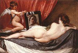 Diego Rodríguez de Silva y Velázquez: Venus del mirall