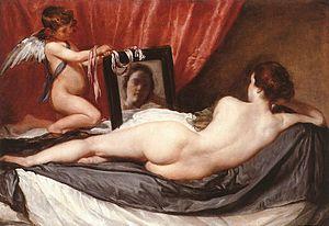 Venus en el Espejo de Velazquez.