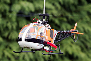 Radio-controlled helicopter - Electric-powered Venom Air Corps Ocean Rescue