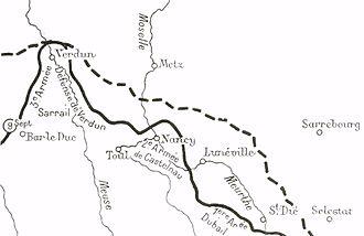 Battle of Grand Couronné - Grand Couronné, September 1914