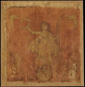 Vexillum - The only extant Roman vexillum, 3rd century AD. Pushkin Museum of Fine Arts, Russia