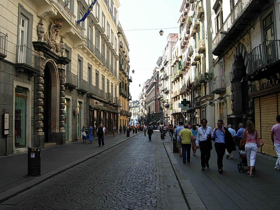 Via Toledo in Napoli