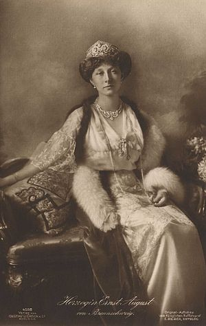 Princess Victoria Louise of Prussia - Victoria Louise, c. 1918