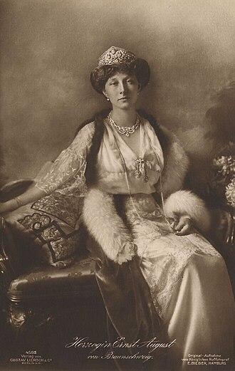 Princess Victoria Louise of Prussia - Victoria Louise, c. 1918