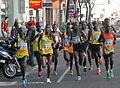 Vienna City Marathon 20130414 56John Kipsang+ 40Victor Kipchirchir + 1Henry Sugut + 41Charles Kimeli 0218 GuentherZ.JPG