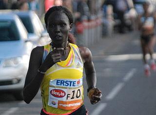 Flomena Cheyech Daniel Kenyan long-distance runner