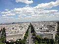 View from Arc de Triomphe 3 2012-07-02.jpg