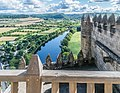 View of Dordogne River from the castle of Beynac 05.jpg