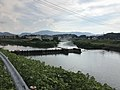 View of confluence of Honamigawa River and Izumigochigawa River 2.jpg