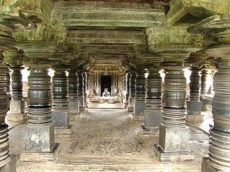 Mandapa - Open mandapa at Amritapura