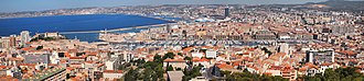 Bouches-du-Rhône - Marseille, second-largest city of France and Bouches-du-Rhône's prefecture