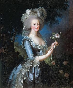 Élisabeth Vigée Le Brun - Portrait of Marie Antoinette, 1783