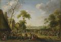 Village Scene (Joost Cornelisz. Droochsloot) - Nationalmuseum - 18657.tif