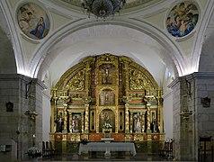 Villarrubio, Iglesia parroquial, interior, ábside.jpg