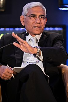 Vinod Rai at the World Economic Forum on India 2012.jpg
