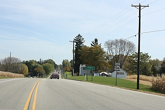 Viroqua, Wisconsin - Image: Viroqua Wisconsin Sign WIS56